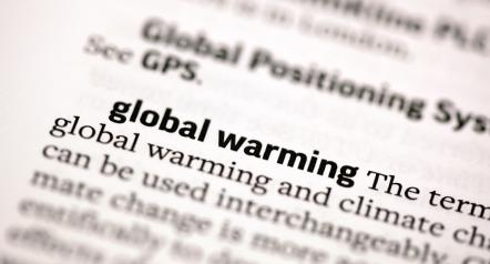 The entry on global warming in the AP Stylebook now ends with two additional sentences.