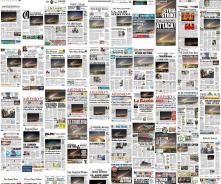 Syria Collage Of Front Pages Resized