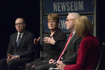 discussion on the growing threats to journalists worldwide